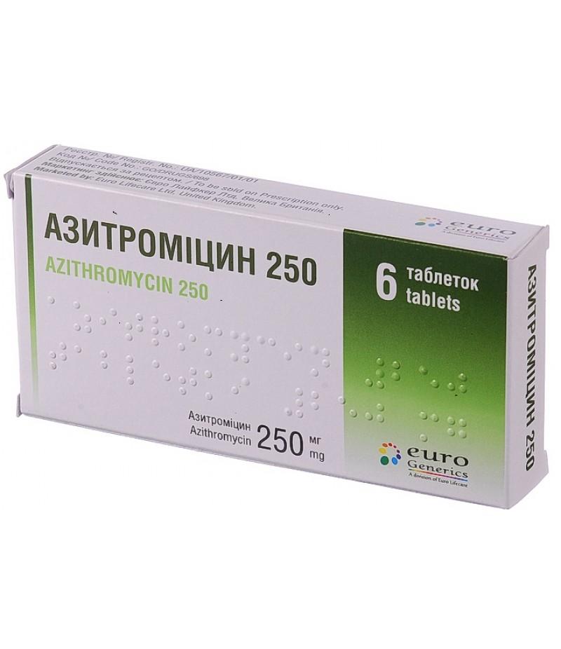 Azithromycin 250mg #6
