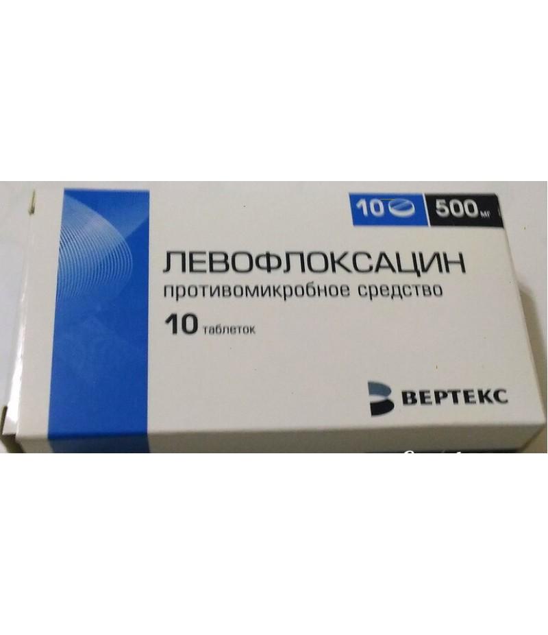 Levofloxacin tabs 500mg #10