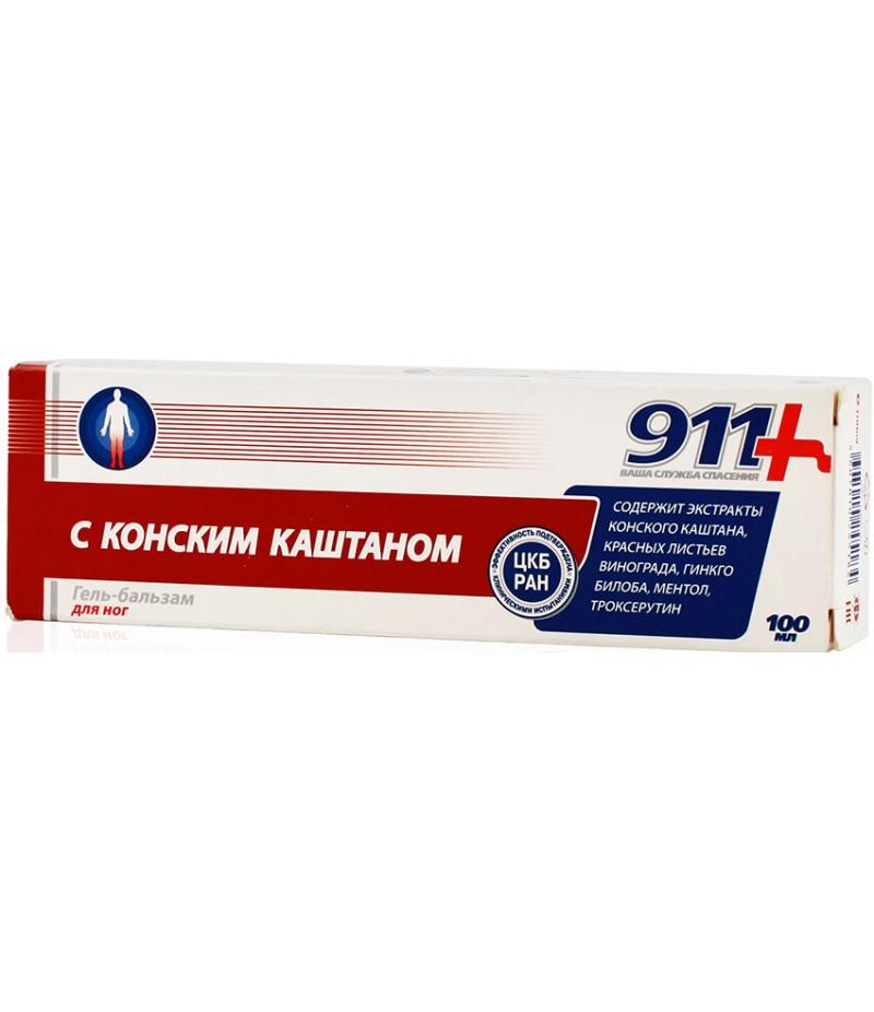911 horse chestnut gel-balm 100ml