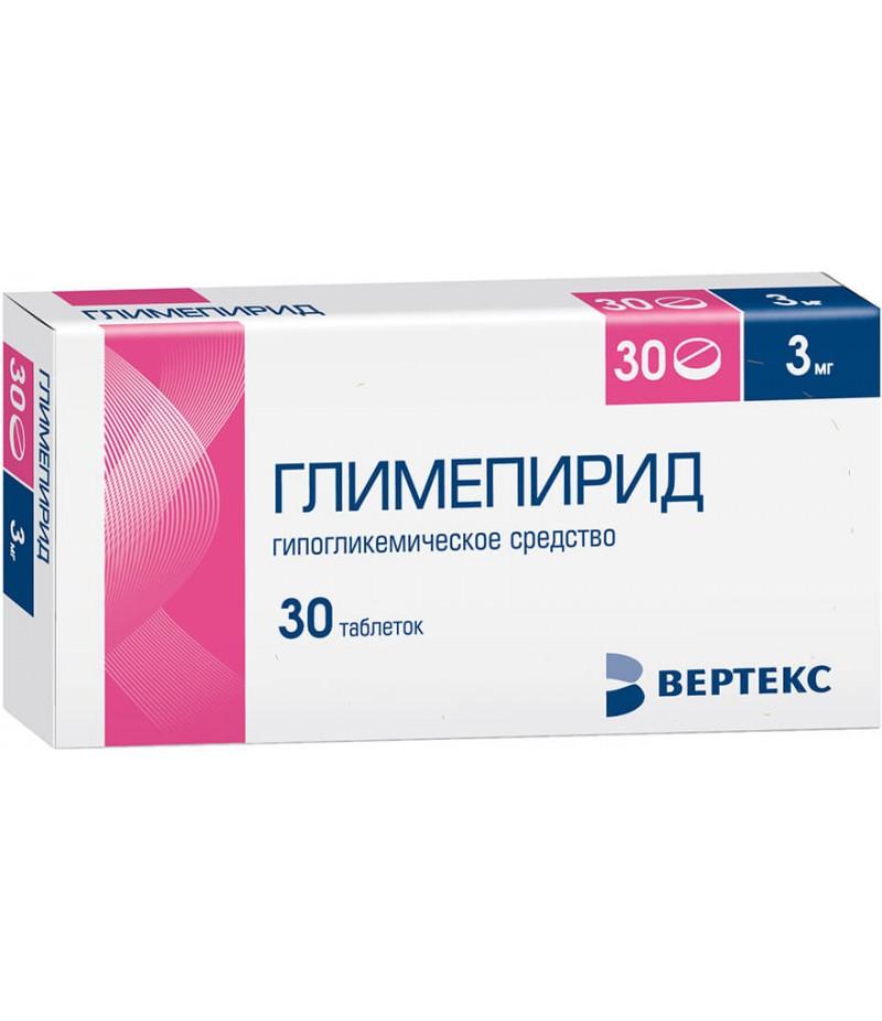 Glimepiride tabs 3mg #30