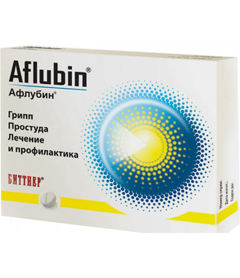 Aflubin homeopathic tabs #48
