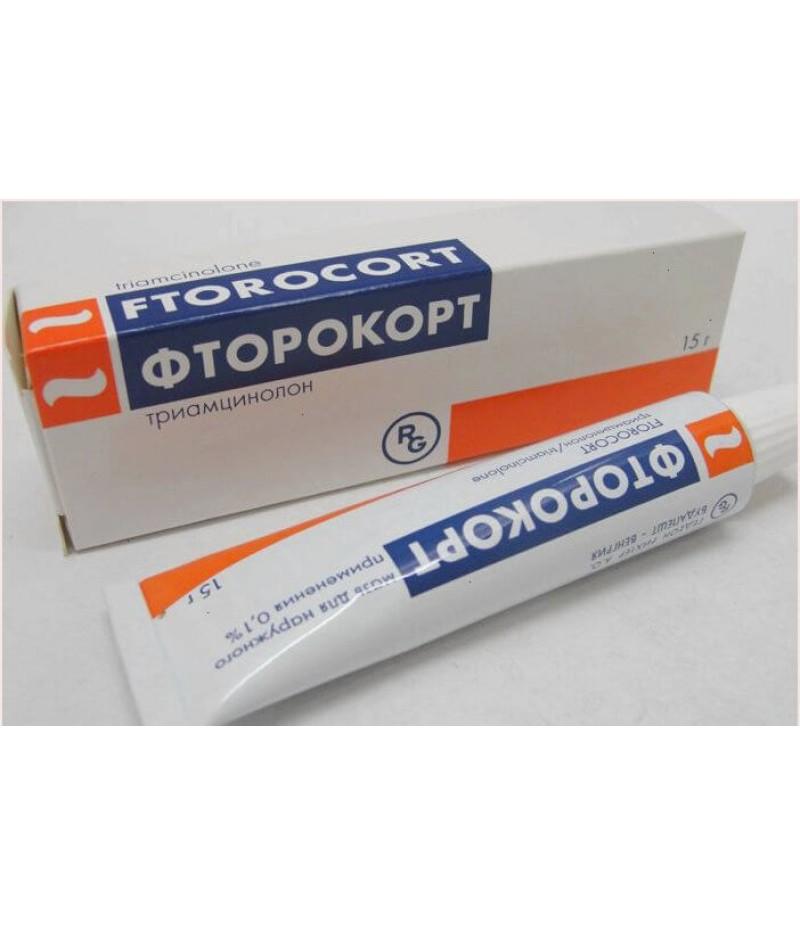 Ftorocort ointment 0.1% 15gr