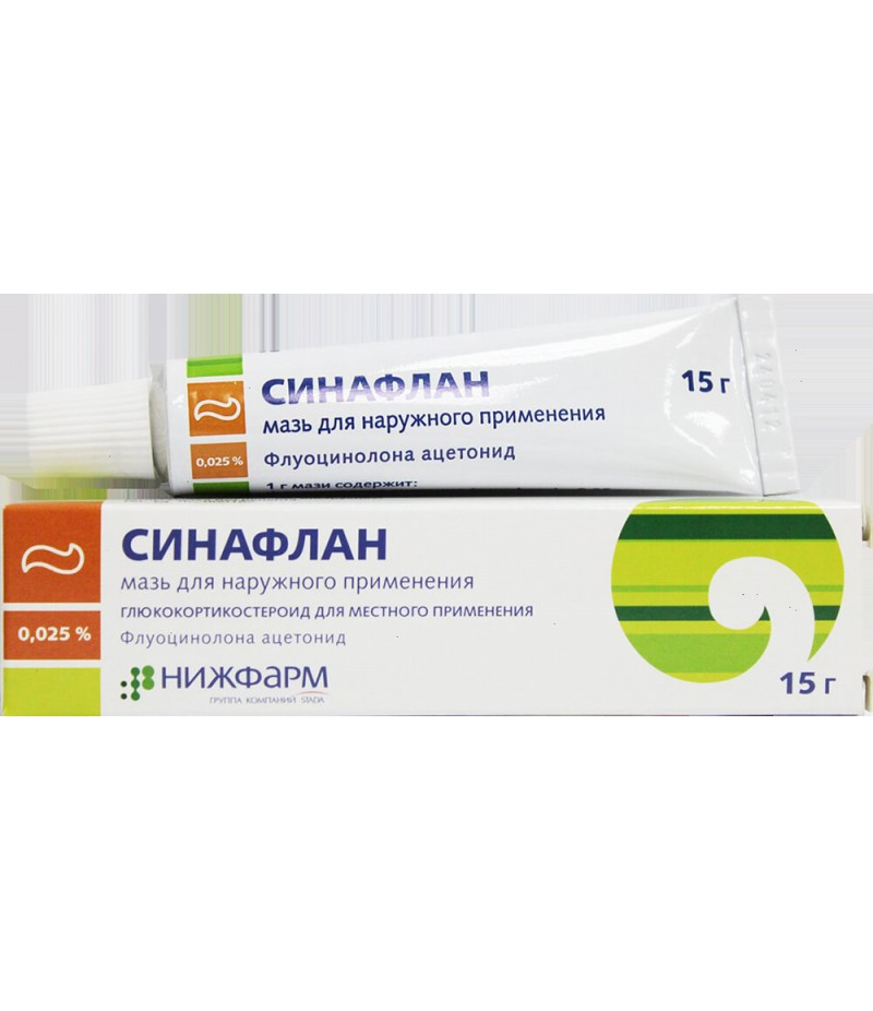 Synaflan ointment 0.025% 15gr