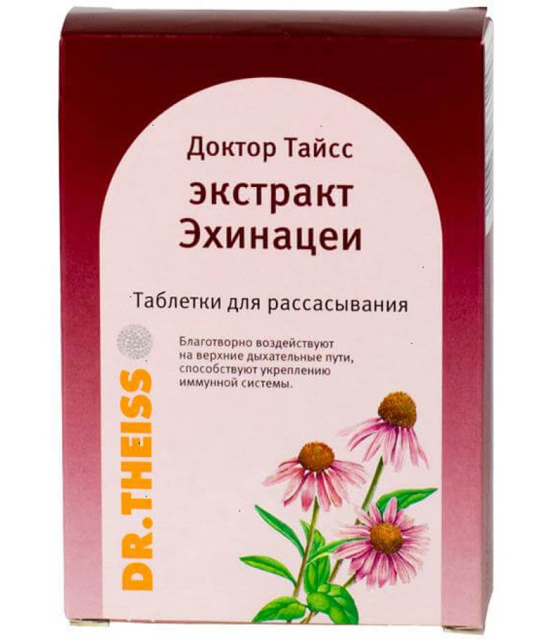 Dr. Theiss Echinacea extract tabs #24
