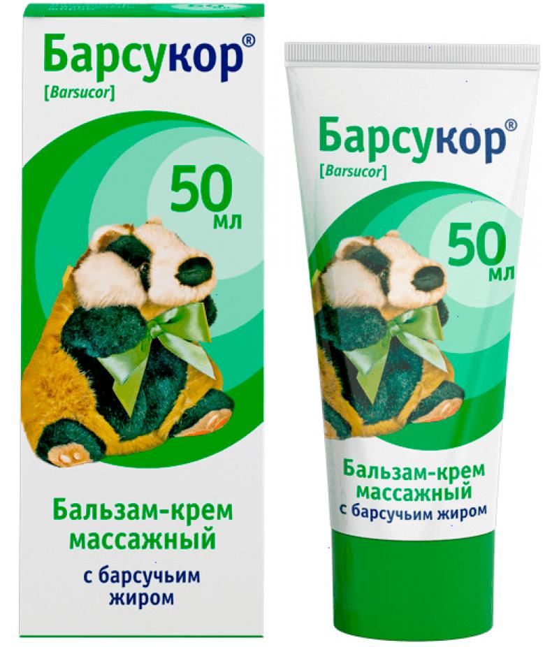 Barsucor balm-cream 50ml