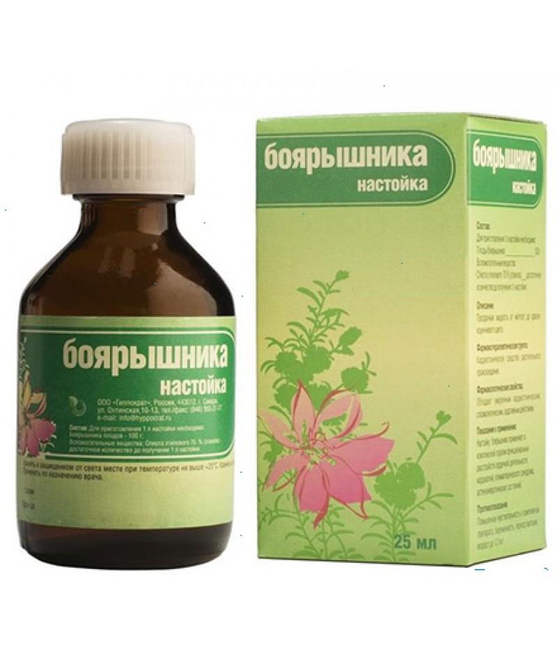Hawthorn tincture (Tinctura Crataegi) 25 ml.