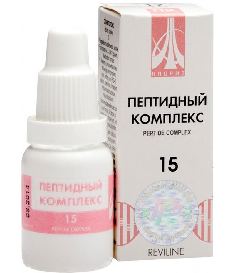 Peptide complex #15 drops 10ml