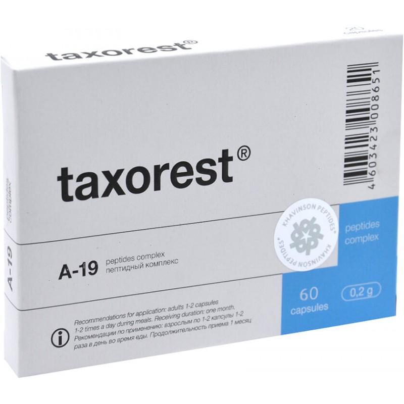 Taxorest caps #60 buy online