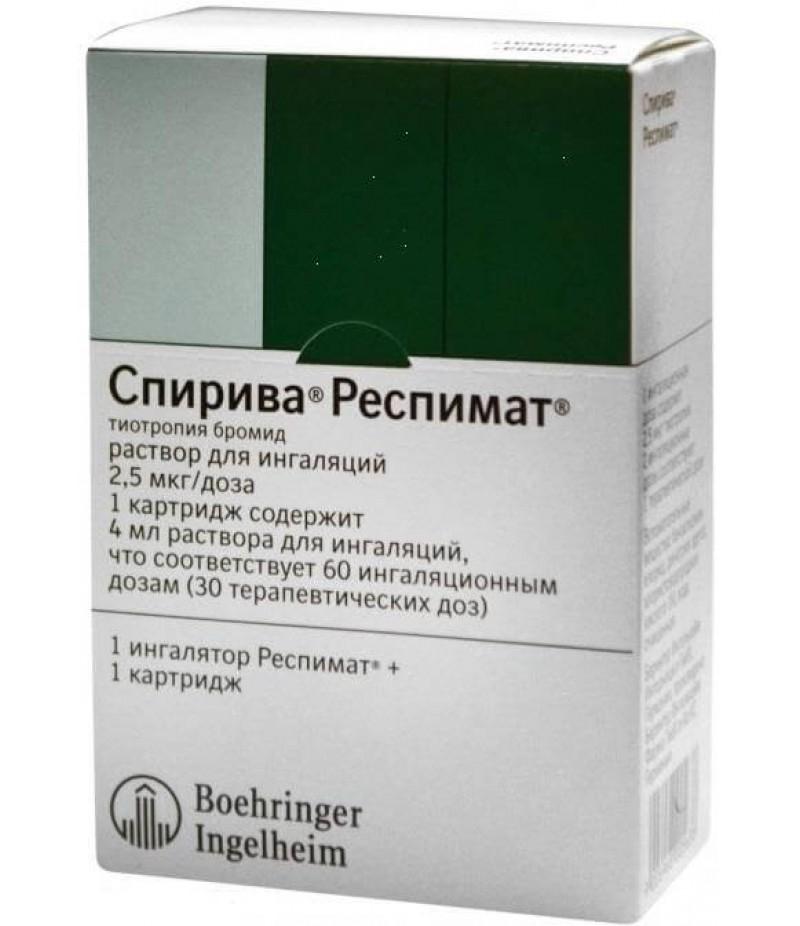 Spiriva Respimat solution 2.5mcg/dose 4ml