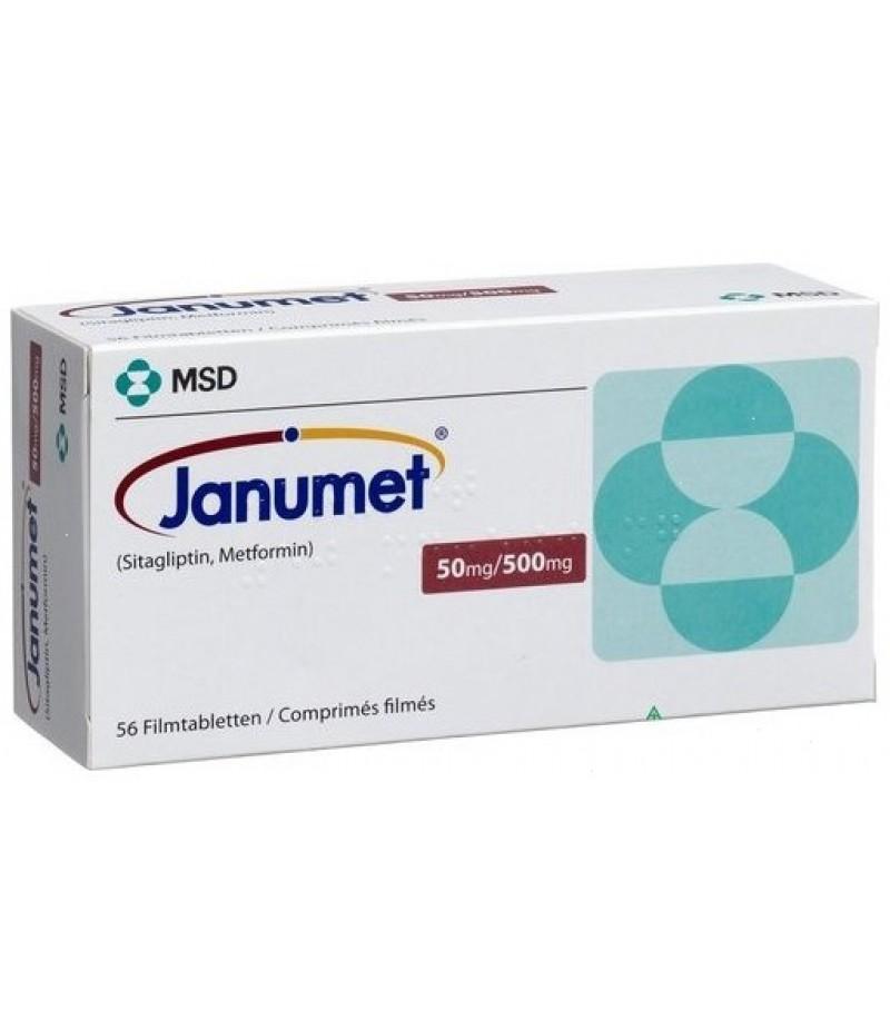 Janumet 500mg + 50mg #56