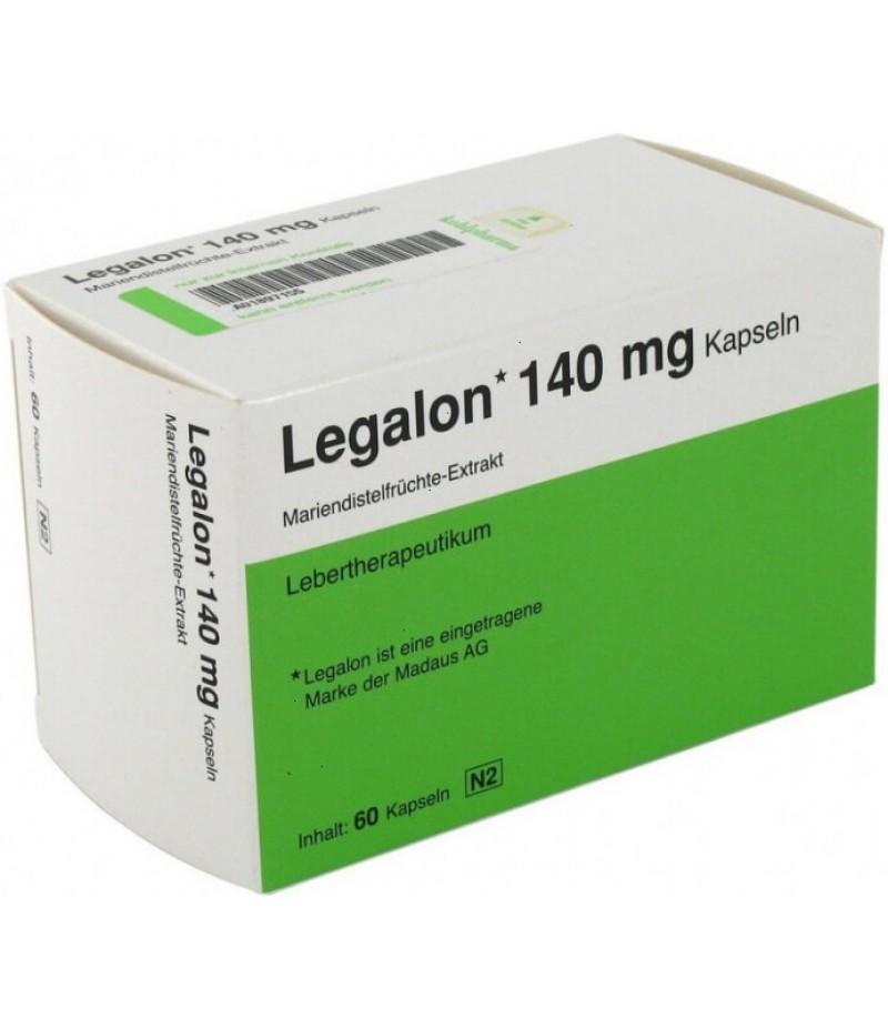Legalon caps 140mg #60