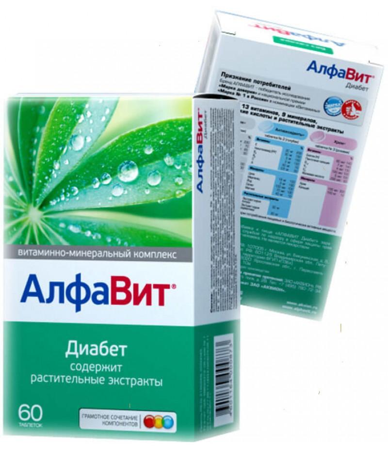 Alfavit Diabetes tabs #60