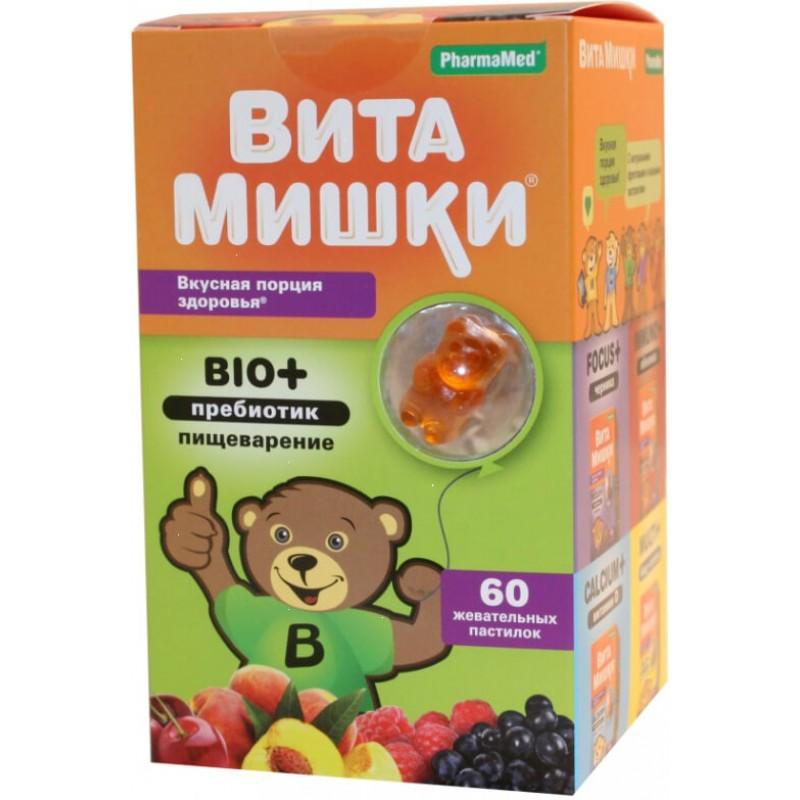 VitaBears Bio + prebiotic #60