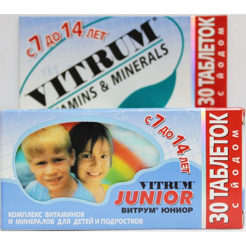 Vitrum Junior tabs #30