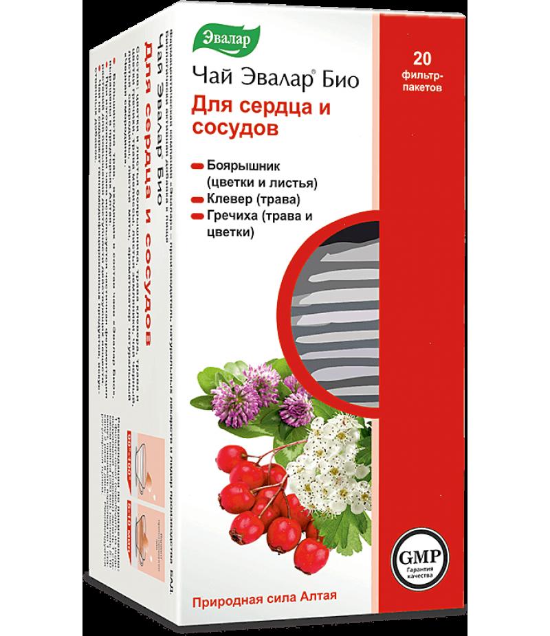 Evalar bio tea for heart and blood vessels 1.5gr #20