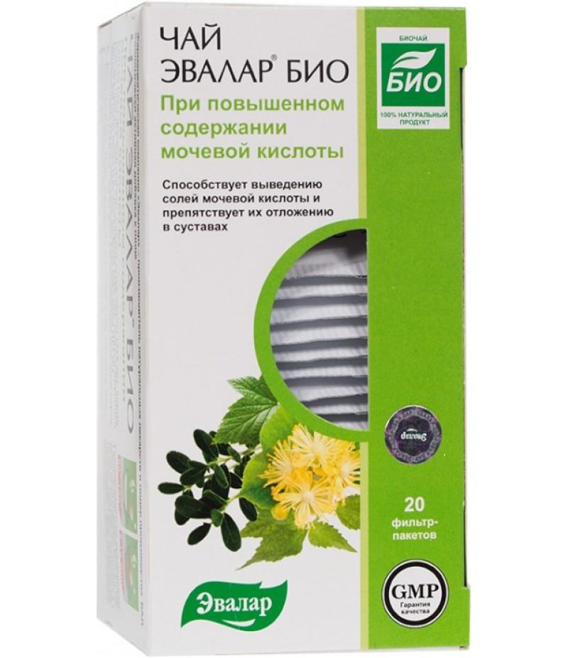 Evalar bio tea with a high content of uric acid 1.5gr #20
